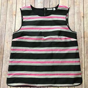 Halogen Top - Large- Pink- Black